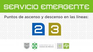 Servicio emergente STC Metro   Mapas de ascenso y descenso